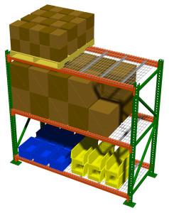 Selective Pallet Rack by Shelf Master, Inc