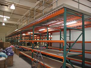 Mezzanine System in Anaheim, CA