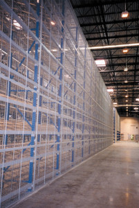 Pallet Rack Backing Safety Panels by Shelf Master, Inc