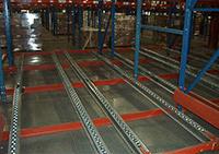 Pallet Flow Storage System by Shelf Master, Inc