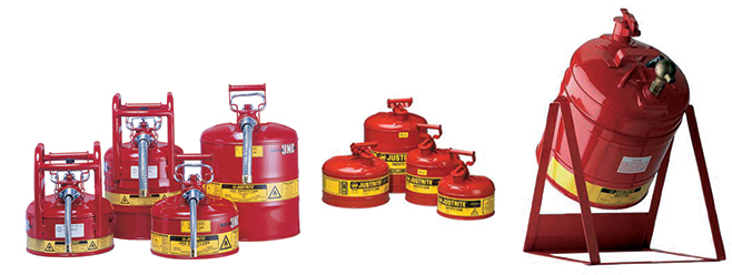 Safety Cans by Shelf Master, Inc