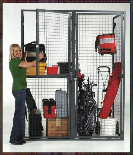 wire mest tenant storage locker